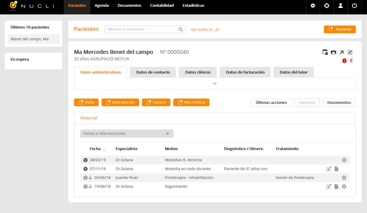 Software contabilidad médico online